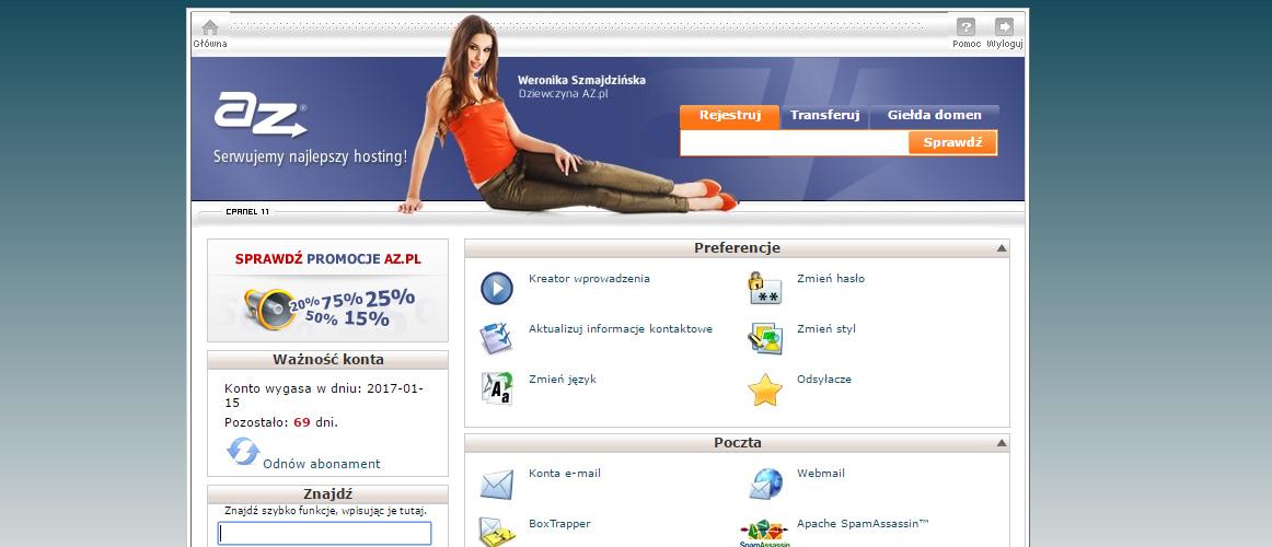 Wordpress krok po korku Instalacja Wordpress Cpanel