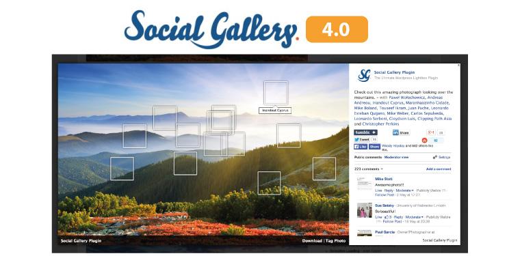 Galeria Wordpress Wtyczka Social Gallery