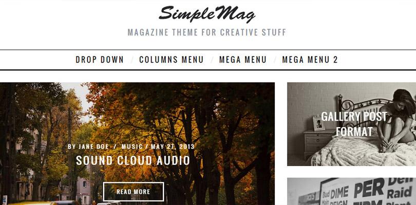 SimpleMag_Szablon_Wordpress_Blog