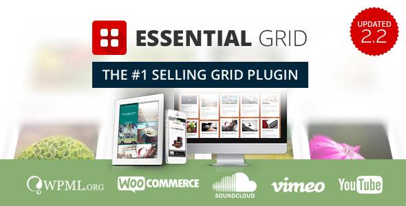 Wtyczki Wordpress 2017 Essential Grid