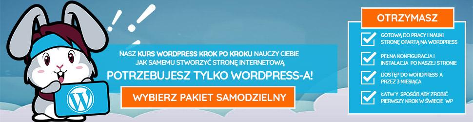 kurs samodzielny wordpress