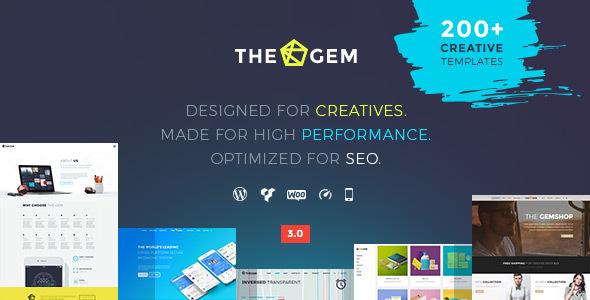 Kreatywne Szablony Wordpress TheGem